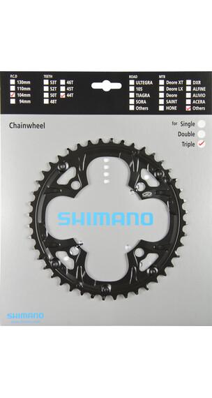 Shimano Deore FC-M480 Drev for kjedebeskyttelse Svart